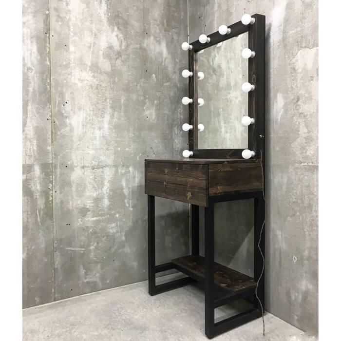 Гримёрное зеркало и стол Flora