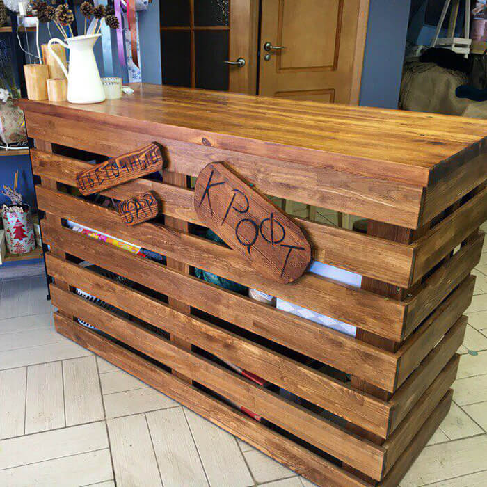 Стол ресепшн Plank