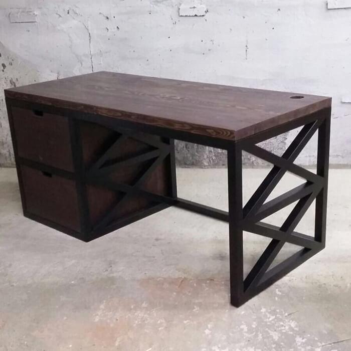 Рабочий стол ХО (2 ящика)