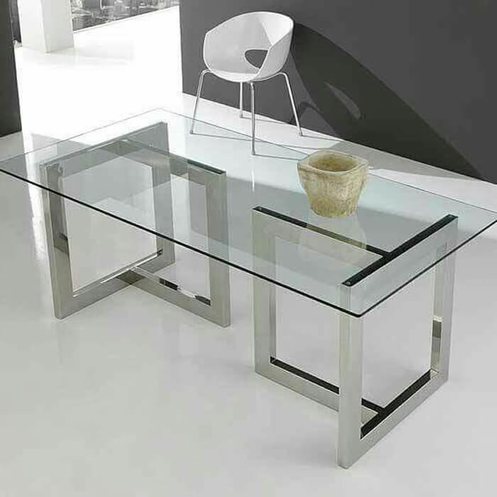 Стол Дизайн Т стеклянный