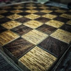 И снова шахматы в процессе.